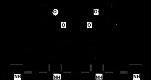 Формула строение Билирубин-диглюкуронид